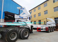 10 Wheeler 20ft 40ft Container Side Lifter / Container Side Loader Trailer ISO Approval