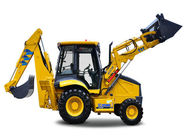 XC870K Heavy Earth Moving Machinery Mini Farm Tractor With Backhoe And Front End Loader